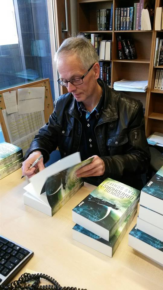 Andreas Brandhorst signiert